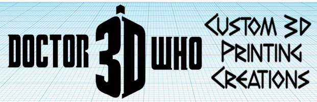 3D PRINTING DOCTOR WHO